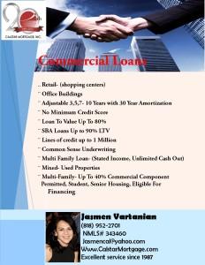 Commercial loan calstar