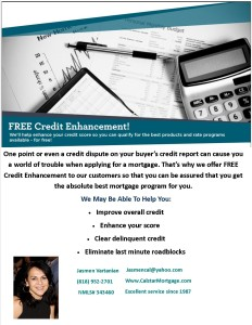 free credit enhancment