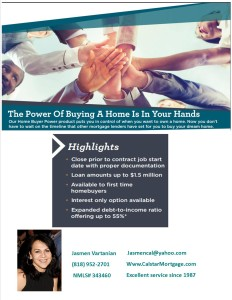 Power of buying a home
